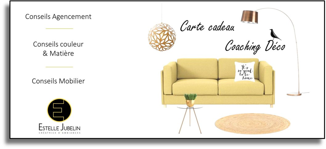 Bon cadeau d co estelle jubelin r seaud co for Cadeau decoration interieur
